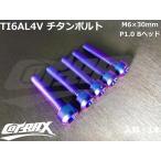 【COTRAX】ROYAL 64チタンボルト 全3色 1本 M6×30mm Bヘッド トルクスタイプ TI6AL4V 軽量 カスタム ボルト 台湾製 ドレスアップ チューニング