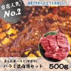 ハラミ焼肉セット 焼肉セット はらみ ハラミ 牛 牛肉 500g  焼肉 バーベキュー セット 肉 BBQ キャンプ 冷凍