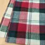布 生地 マドラスチェック柄  61816 布地 手芸 インド綿 ファブリック