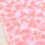 キルティング 生地 キルト 布 ハート柄 T/Cブロード ピンク 子供 安い レッスンバッグ/手芸
