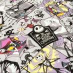 布 生地 ナイトメア ビフォア クリスマス 綿 キャラクター オックス 布地 手芸 ディズニー/メール便可 入園入学