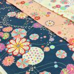 ポプリン リップル 生地 布 花柄 和柄 komachi 浴衣 甚平 布地 ゆかた 手芸 子供 レトロ 和風 古典 キッズ