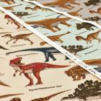 Yahoo!コットンハウスセシール 生地 通販恐竜柄 生地 布 リアルなきょうりゅう 綿 ツイル 布地 手芸 かっこいい 男の子 コットンこばやし