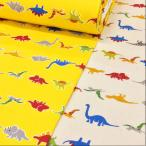 恐竜柄 生地 綿 布 オックス 布地 手芸 子供 入園入学 男の子 メール便可