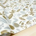 ラミネート生地 北欧風 葉っぱ柄  Wild Leaf 布 手芸 布地 テーブルクロス 切り売り  おしゃれ 150cm幅 広幅 北欧柄