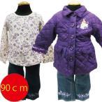 ショッピングジャケット 送料無料Disney ディズニー プリンセス ベビー セットアップ 上下セット 3点セット 18ヵ月 90cm 暖か