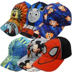 Disney ディズニー カーズ トイストーリー スターウォーズ 子供用帽子 キッズ  野球帽 キャップ スーパーマン バットマン