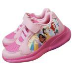 Disney ディズニー プリンセス 子供用 靴 キッズ スニーカー 運動靴 18cm 18.5cm  シンデレラ オーロラ姫 入園 入学 遠足 運動会 スポーツ