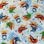 THOMAS トーマス 生地 切り売り ハンドメイド キャラクター 入園 入学 通園 通学 手作り 衣装 パジャマ