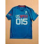 RLX アールエルエックス Ralph Lauren ラルフローレン 2015 USオープンテニス Tシャツ ネイビー ホワイト ブルー 並行輸入