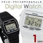 ≪超激安セール!数量限定の超特価!≫ おひとり様おひとつ限りでお願いします! デジタル腕時計 メンズ レディース デジタル時計 白 黒