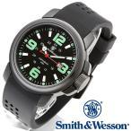 スミス&ウェッソン Smith & Wesson ミリタリー腕時計 AMPHIBIAN COMMANDO BLACK SWW-1100 [正規品] [送料無料] [ラッピング無料]