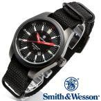 スミス&ウェッソン Smith & Wesson スイス トリチウム ミリタリー腕時計 SWISS TRITIUM MILITARY H3 WATCH BLACK [正規品] [送料無料] [ラッピング無料]