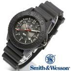 スミス&ウェッソン Smith & Wesson スイス トリチウム ミリタリー腕時計 SWISS TRITIUM M&P WATCH SWW-MP18-BLK [正規品] [送料無料] [ラッピング無料]