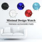 ミニマルウォッチ 時計 メンズ レディース シンプル 腕時計 本体のみ