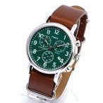 ミリタリー タイメックス TIMEX 腕時計 メンズ レディース ウォッチ ウィークエンダー クロノグラフ TW2P97400