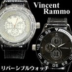 腕時計 メンズ腕時計 VINCENT036BKSV 腕時計 メンズ 腕時計