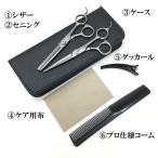 美容師 理容師 はさみ スキハサミ  6.5インチ すき率 30% 散髪 シザーセット ハサミセット シザー セニン