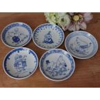 (MOOMIN×amabro)ムーミン染付け 手塩皿5種類小皿 ギフト 陶器 誕生日 母の日