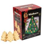 (Walkers ウォーカー)#1576 クリスマスツリーショートブレッドビスケット150g(簡易ラッピング付)イギリス  クリスマス プレゼント ギフト 誕生日