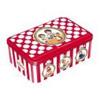 ラ・トリニテーヌ レトロキッズ(赤) レッド&ゴールド スポット缶 (ガレット/パレット詰合せ) ラッピング付マーベルルーシー フランス 誕生日