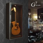 ショッピングギター ギターショーケース 収納  壁掛け ジーセブンス ディスプレイ ギタリスト (お届け日 要 確認)