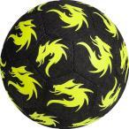 Monta ストリートサッカー専用ボール Street Match Megatron 4.5号球(ブラック×イエロー)【Monta/モンタ】