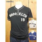チェスウィック BROOKLYNヘンリーネックTシャツ ブルー ナチュラル ブラック CH76974