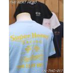 フラットヘッド Tシャツ FN-THC-017 SUPER HONEY 丸胴半袖Tシャツ ブラック ホワイト ネイビー サックス theflathead