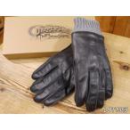 ダッパーズ  ホースハイドレザーグローブ ブラック 皮手袋 dappers LOT1369
