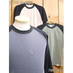 トイズマッコイ Tシャツ TMC1631 McHILL SPORTS WEAR クロップドラグランTシャツ キャロット アイボリー グレー オレンジ