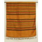 ベトナム 少数民族 ターイ族 手織り 民族布 シルク ストール ショール タペストリー  幅広 大判