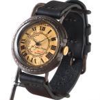 """JOIE INFINIE DESIGN(ジョイ アンフィニィ デザイン)手作り腕時計""""Ancient Jumbo -エンシェント ジャンボ-""""[D-6000]"""