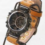 手作り腕時計 ハンドメイド KS(ケーエス) JHA・篠原康治 スチームパンク EXTAGON エクスタゴン/アンティーク調/レトロ