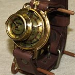 古董手表 - 手作り腕時計 ハンドメイド 渡辺工房 SCOPE-L ジャンボブラス/アンティーク調/レトロ