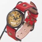 古董手表 - 手作り腕時計 ハンドメイド vie(ヴィー) 手巻き式 コンパクトメカ WB-044/機械式腕時計/アンティーク調/レトロ