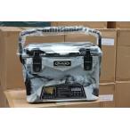 アイスランドクーラーボックス Iceland Cooler Box20QTーグレーホワイトカモ まな板・シェルフ、ドリンクホルダー付きセット/ 18.9L