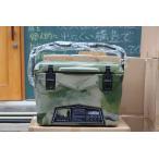 アイスランドクーラーボックス Iceland Cooler Box20QTーグリーンカモ まな板・シェルフ、ドリンクホルダー付きセット/ 18.9L