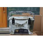 アイスランドクーラーボックス Iceland Cooler Box20QTーデザートカモ まな板・シェルフ、ドリンクホルダー付きセット/ 18.9L