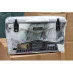アイスランドクーラーボックス Iceland Cooler Box45QT/42.6Lーグレーホワイトカモ まな板・シェルフ・ドリンクホルダー付きセット
