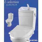 LIXIL INAX 格安トイレセット LN便器 手洗なし 床排水 排水芯200mm 便器:C-180S タンク:DT-4540 シャワートイレ:CW-B51