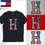 ショッピングHILFIGER トミーヒルフィガー TOMMY HILFIGER H Flag Graphic クルーネック メンズ Tシャツ
