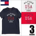 ショッピングHILFIGER トミーヒルフィガー TOMMY HILFIGER クルーネック 半袖 Tシャツ メンズ Crew Neck Tee