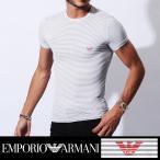 エンポリオアルマーニ EMPORIO ARMANI SAILOR STRIPED MACRO メンズ 半袖 Tシャツ