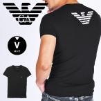 エンポリオアルマーニ EMPORIO ARMANI EAGLE メンズ Vネック Tシャツ