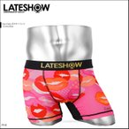 レイトショー LATESHOW ボクサーパンツ メンズ Kiss mark