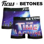 ボクサーパンツ メンズ ブランド タイムマシーン コラボ おしゃれ timemachine FICUS x BETONES