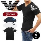 エンポリオ アルマーニ EMPORIO ARMANI メンズ Tシャツ Vネック 半袖 ブランド ロゴ 送料無料