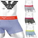エンポリオ アルマーニ EMPORIO ARMANI ローライズ ボクサーパンツ メンズ 下着 アンダーウェア コットン ブランド ロゴ