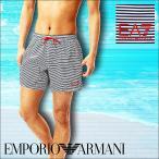 真夏売りつくしSALEエンポリオアルマーニ水着メンズショート丈サーフパンツARMANISEAWORLDBWSTRIPES2018夏新作